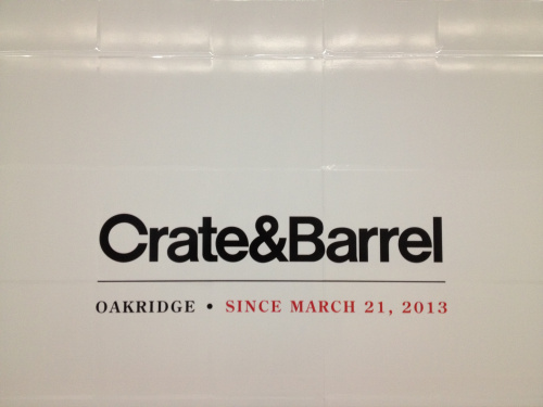 Crate And Barrel Vancouver Opening - Vancouver Food And Wine